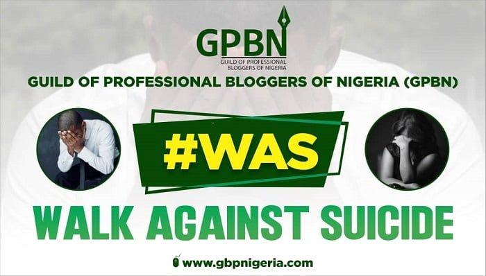 """Walk Against Suicide"" #WAS"
