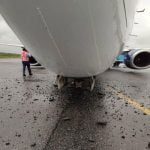 Air Peace Plane Loses Tyre While Landing In Lagos Airport