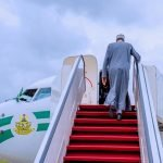 Buhari Leaves Abuja For Russia-Africa Summit In Sochi, Russia