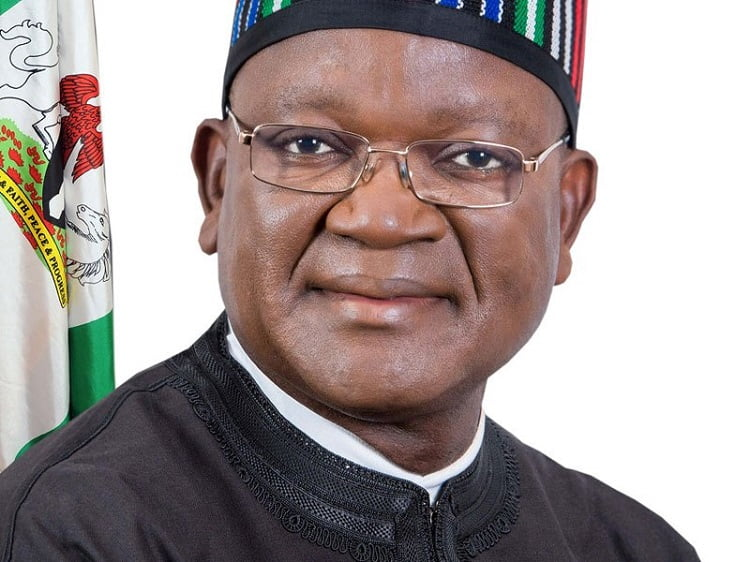 COVID-19: Gov Ortom Tests Positive, Goes Into Isolation
