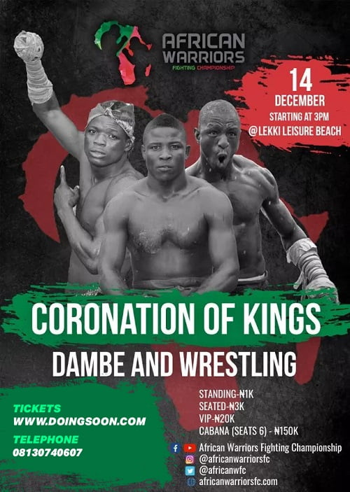 EVENT: The African Warriors Fighting Championship