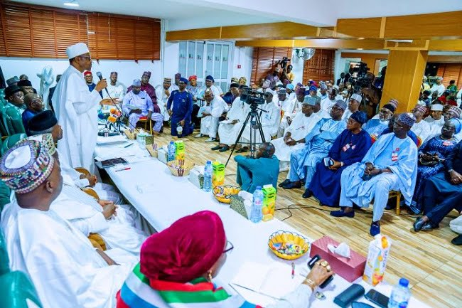 I'm Not Interest In 3rd Term Says Buhari