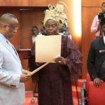Senate Swears-In Biodun Olujimi