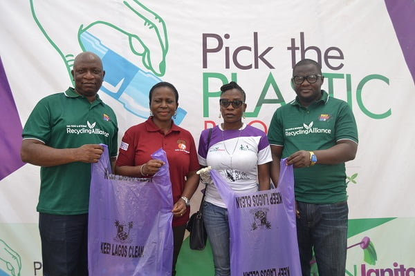 Lagos State, FBRA, Green Janitors Partner To Rid Badagry Of Plastic Waste ThroughPick-A-PlasticCampaign