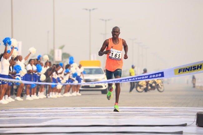 Kenya's David Barmasai Tumo Wins 2020 Lagos Marathon