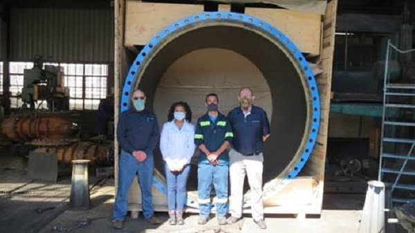 Massive 2400mm Flow Meter Ready For Installation As SA Water Projects Gain Momentum