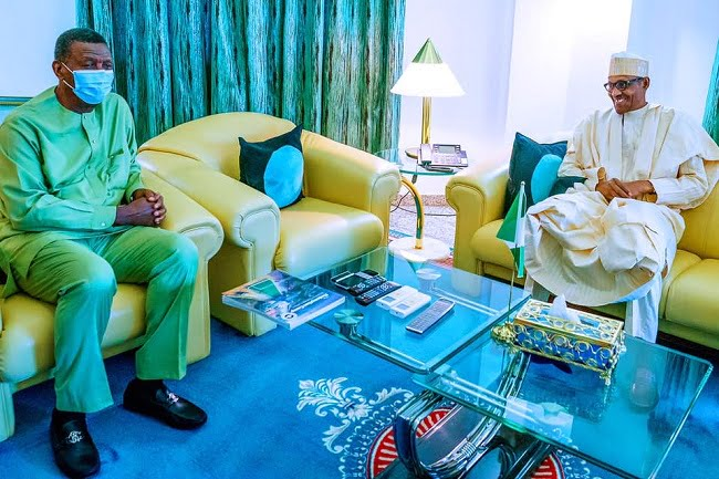 Buhari Commiserates With Pastor Adeboye On Death Of Son