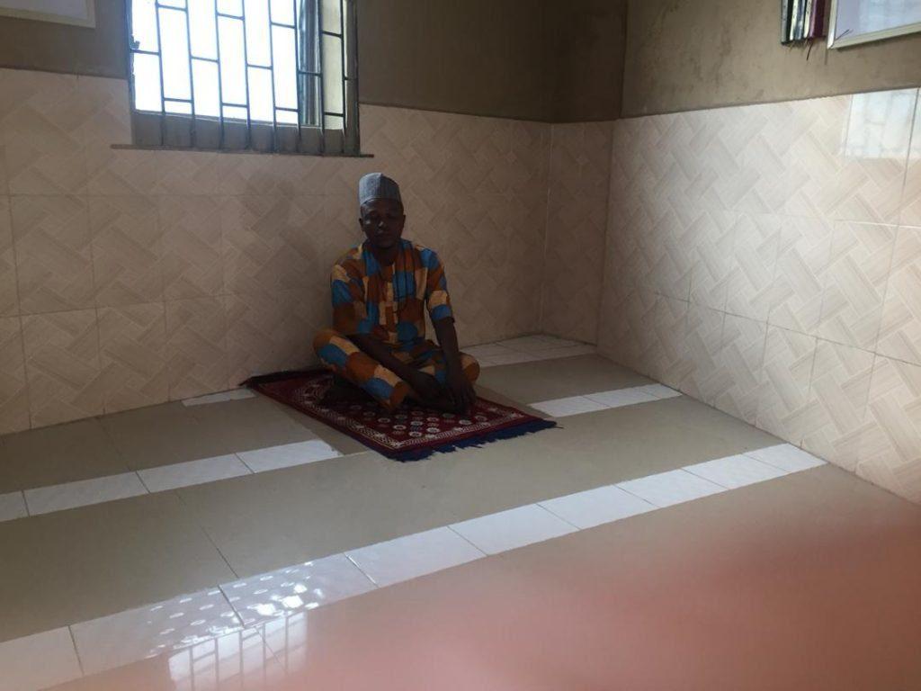 alfa in mosque