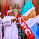 Buhari Meets Ize-Iyamu, Buni, Ganduje At Aso Rock Urges Party To Avoid Rivers, Zamfara Experiences