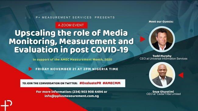 P+ Measurement Services Hosts 2020 AMEC Measurement Month In Nigeria