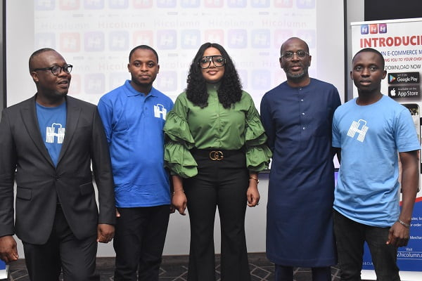 Nollywood Celebrity, Tayo Sobola, Unveils Hicolumn Groundbreaking e-commerce Tech