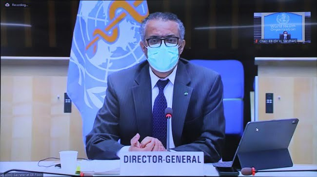 WHO DG Remarks For COVID-19 Press Briefing
