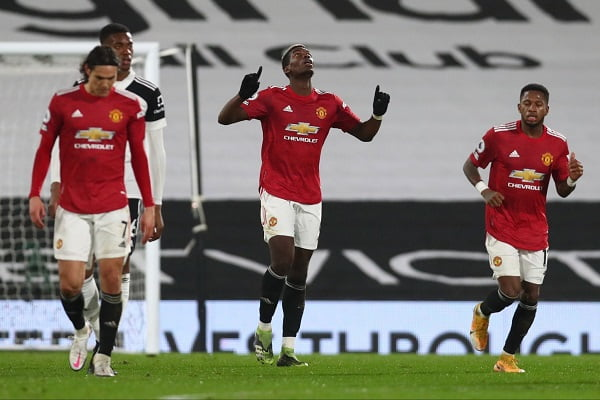 Lookman On Target, Aina In Action As Man United Beat Fulham, Reclaim Top Spot