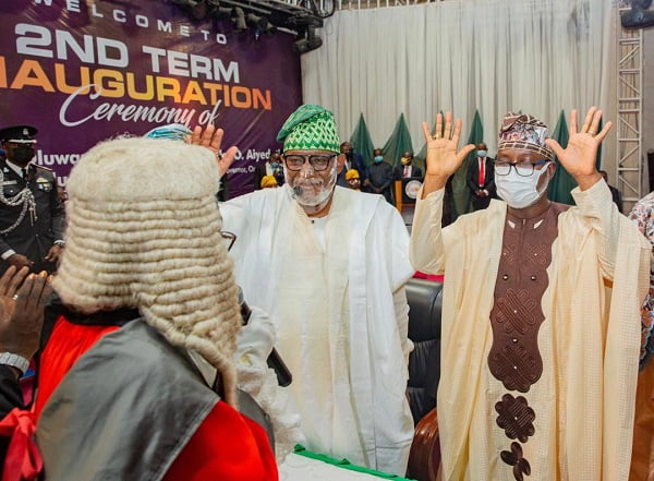 Governor Akeredolu Sworn In For Second Term