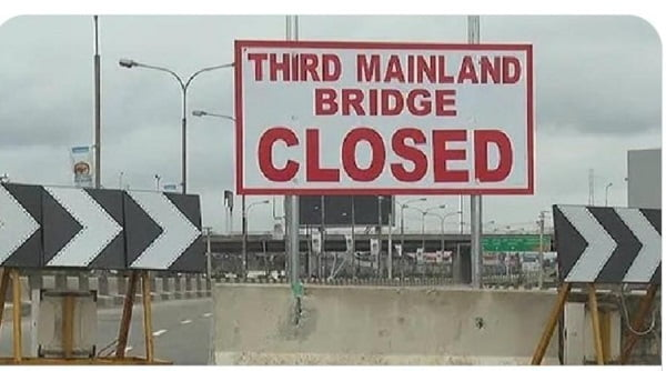 Lagos To Shut Down Third Mainland Bridge Saturday