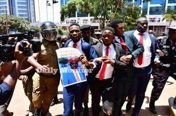 Uganda's Opposition Leader Bobi Wine Arrested During Protest In Kampala