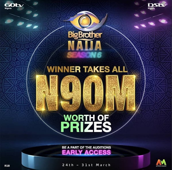 #BBNaija: Winner To Go Home With Whooping N90m