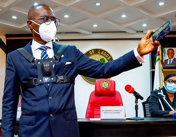 Lagos Law Enforcement Officers To Start Wearing Body Cameras