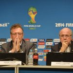 Sepp Blatter and Valcke