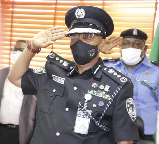 IGP Usman Alkali Baba Assumes Duty