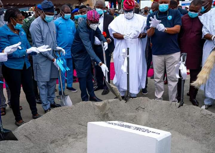Sanwo-Olu Kicks Off Construction Of Red Line Project From Agbado To Marina | Lagos Post Online