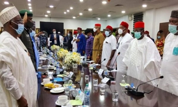 South-East Governors Sets Up New Outfit 'EBUBE AGU' To Tackle Insecurity