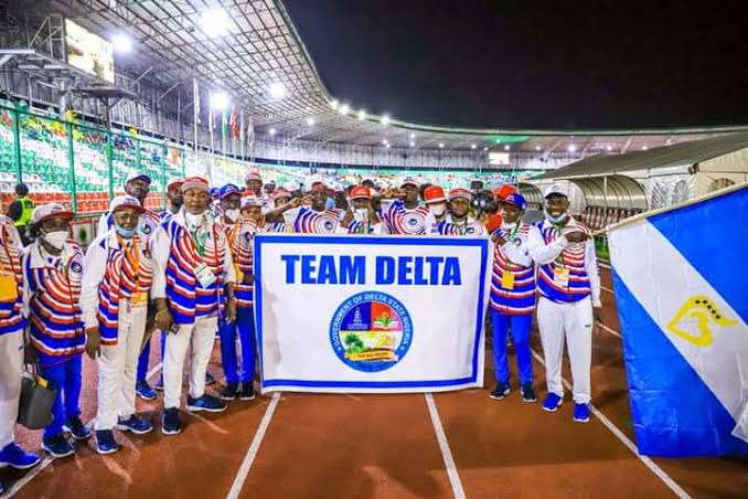 Delta Wins 20th National Sports Festival, See Full Result
