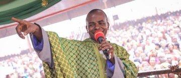 Jubilation In Enugu As Father Ejike Mbaka Reappears