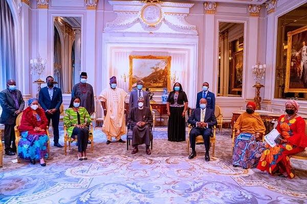Buhari in Paris