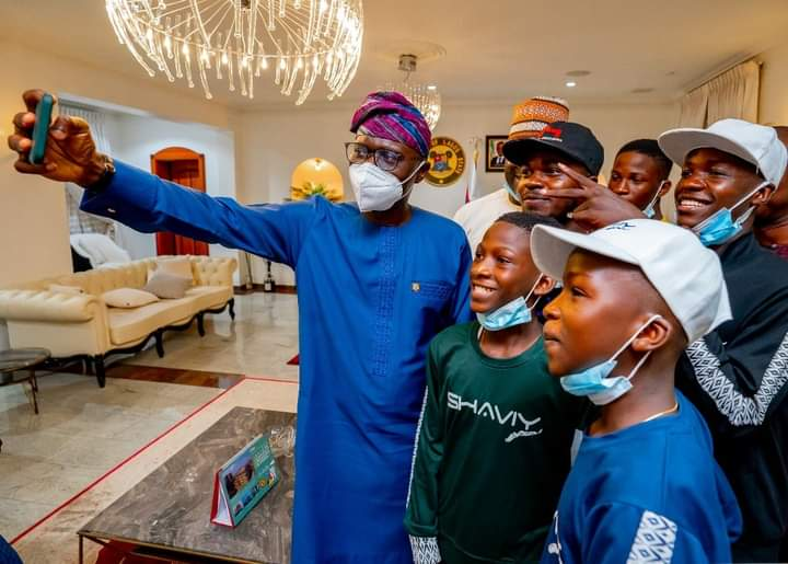 Sanwo-Olu Hosts Ikorodu Bois, Says His Administration Is Committed To Developing Creative Industry