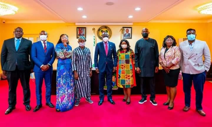 Sanwo-Olu Initiates Project To Fund Talent Development, Creativity In Entertainment Sector