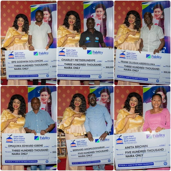 Dr Helen Oritsejafor Foundation Offers Financial Support to SMEs Affected by COVID-19 Pandemic