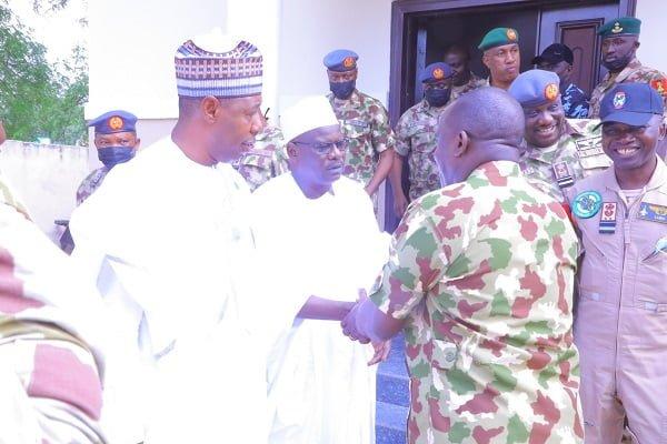 Borno gov and COAS