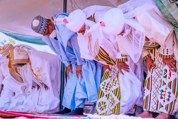 Buhari attends Eid El Kabir Prayers 2