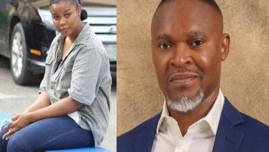 Chidinma Ojukwu and late SuperTV CEO Usifo Ataga