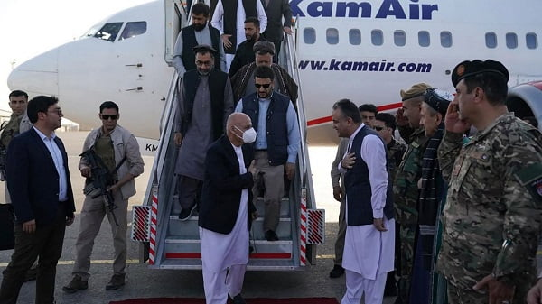 Afghan President Ghani