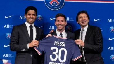 Lionel Messi's number 30 shirt unveiled