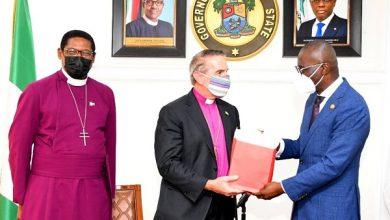 Anglican Bishops and Sanwo-Olu
