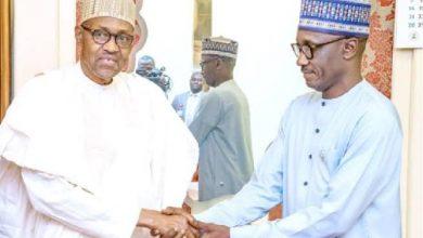 Buhari and Mele Kyari