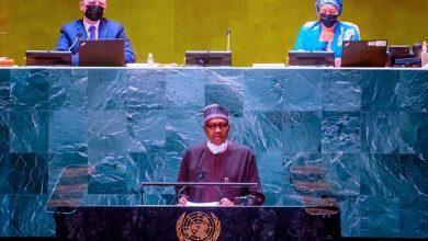 Buhari at UNGA summit