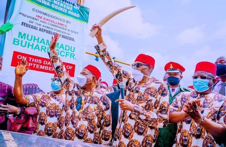 President Buhari in Imo state