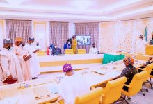 President Buhari Swears In Three INEC National Commissioners