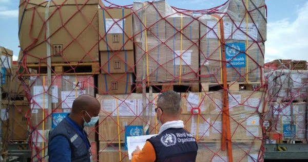 WHO Logistics Hub Airlifts Its Largest Single Shipment Of Humanitarian Cargo To Ethiopia